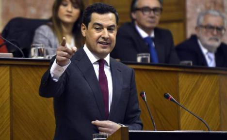 Moreno Bonilla, es el nuevo presidente de Andalucía con los votos de PP, Cs y Vox