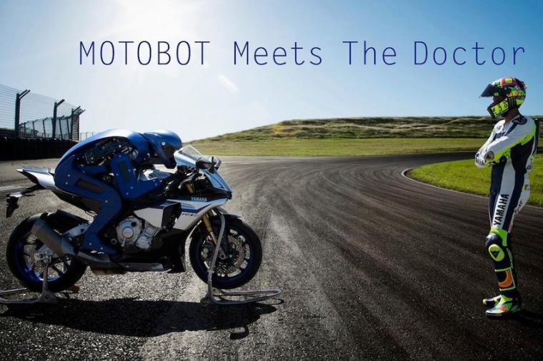 Motobot, el robot piloto de Yamaha, ya es capaz de rodar a más de 200 Km/h