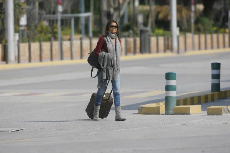 La policía detuvo el pasado martes en el aeropuerto madrileño a María José Suárez