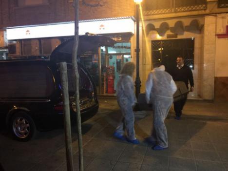 Muere una mujer en Guadix a manos de su hermano