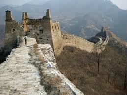 Peligra la Muralla China