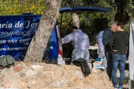 Aparece en la pedanía murciana de Monteagudo el cadáver quemado de una mujer