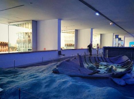 El Museo Nacional de Arqueología Subacuática (ARQVA) cierra al público temporalmente para acometer obras de mejora en el edificio