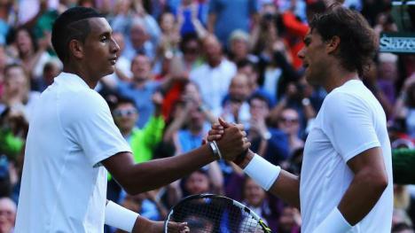Nadal gana a Ramos y pierde con Nick Kyrgios