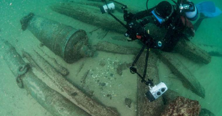 Se ha encontrado en el rio Tajo una nao del siglo XVI