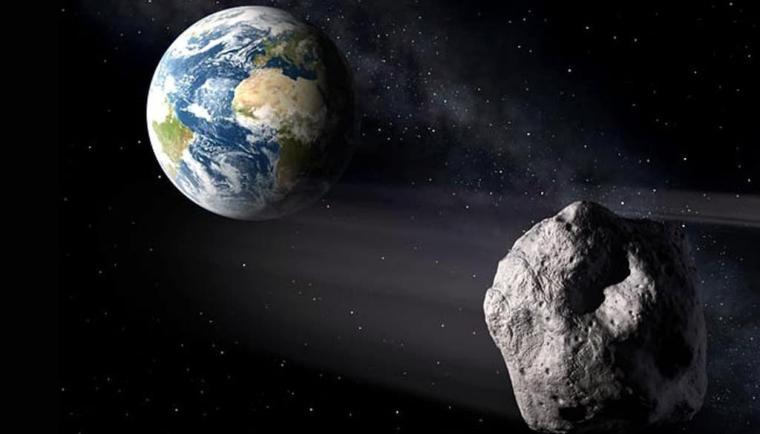 Un enorme asteroide se acercó a la Tierra esta madrugada
