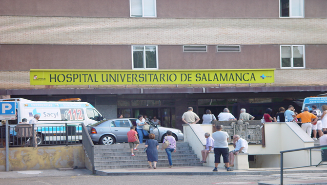 Un herido por arma blanca en Salamanca