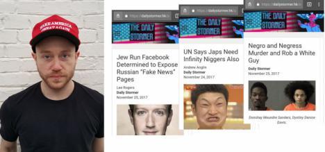 El neonazi Andrew Anglin dueño de la página Daily Stormer, condenado a pagar 14 millones de dólares por delitos de odio