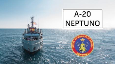 El buque 'Neptuno' protegerá el patrimonio arqueológico en islas Cíes