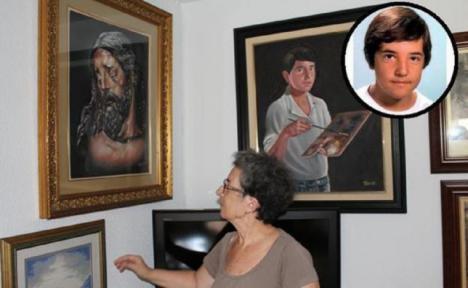 Reabren el caso del 'niño pintor' de Malaga 33 años después de su desaparición