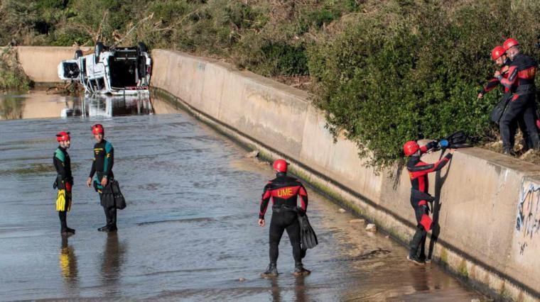 Encontrado el cadáver del niño desaparecido en la riada de Mallorca