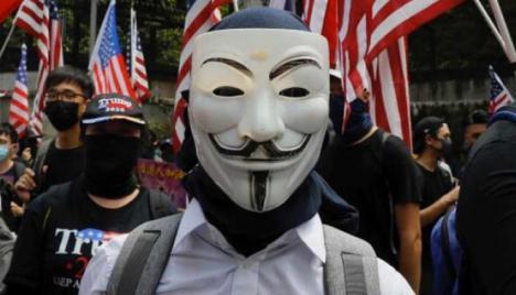El grupo de 'hackers' Anonymous le declara la guerra al Departamento de Policía de Minneapolis por la muerte del afroamericano George Floyd