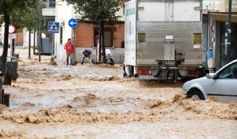 Aviso naranja por lluvia en gran parte de España