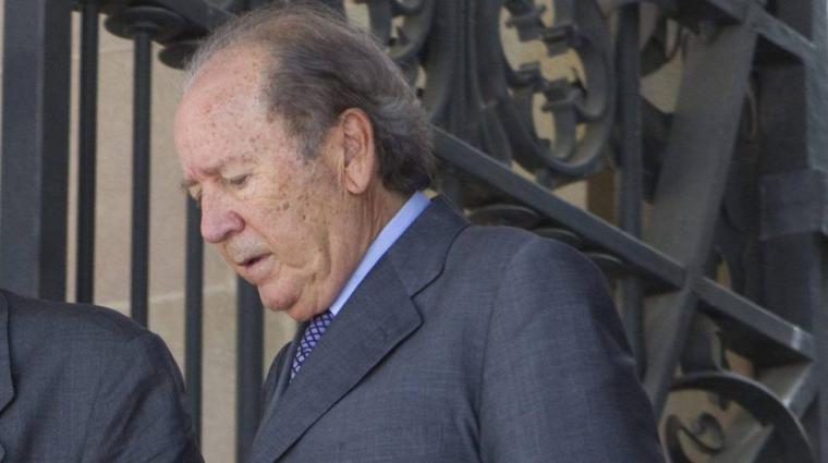 Josep Lluís Núñez ex-presidente del Barça ha fallecido a los 87 años,