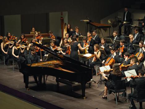 La Orquesta de Jóvenes de la Región de Murcia actuará este domingo en la Iglesia de Nuestra Señora del Rosario