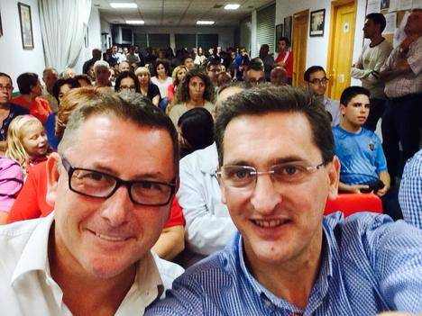 Antonio López Olmo asume el reto de disputarle la Secretaria General a José Luis Sánchez Teruel.