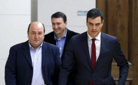 Sánchez e Iglesias presentarán esta tarde su programa de Gobierno después de que PSOE, Podemos, ERC y el PNV hayan llegado a un acuerdo de investidura