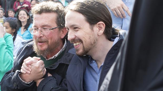 Pablo Iglesias: 'De terrorista, nada. Mi padre fue un combatiente que hizo frente sin miedo a la dictadura'