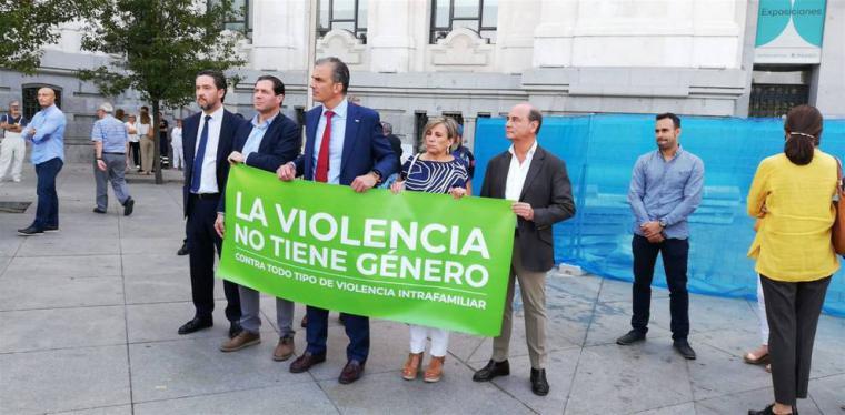 Vox niega una vez más, la violencia machista