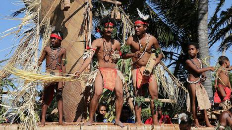 El enfrentamiento entre tribus rivales que provocó una matanza de decenas de personas en la remota Papua Nueva Guinea