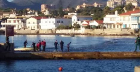 Interceptadas dos embarcaciones con diecinueve inmigrantes, uno de ellos menor de edad, frente a Cabo de Palos