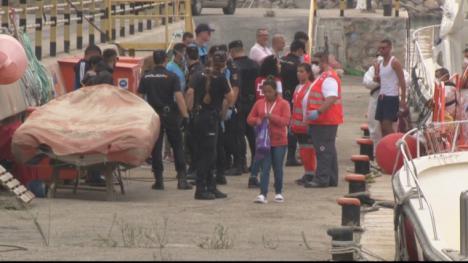 Guardía Civil y Salvamento Marítimo interceptan los días 1 y 2 de enero ocho pateras, con un total de 108 inmigrantes