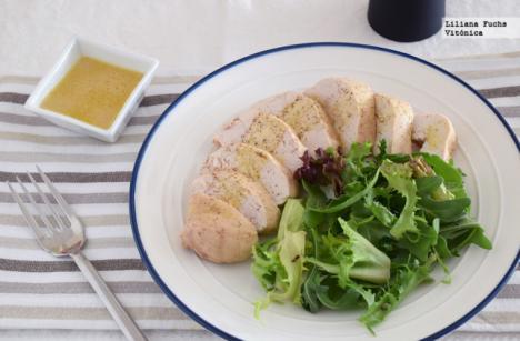 Pechuga de pollo al miso