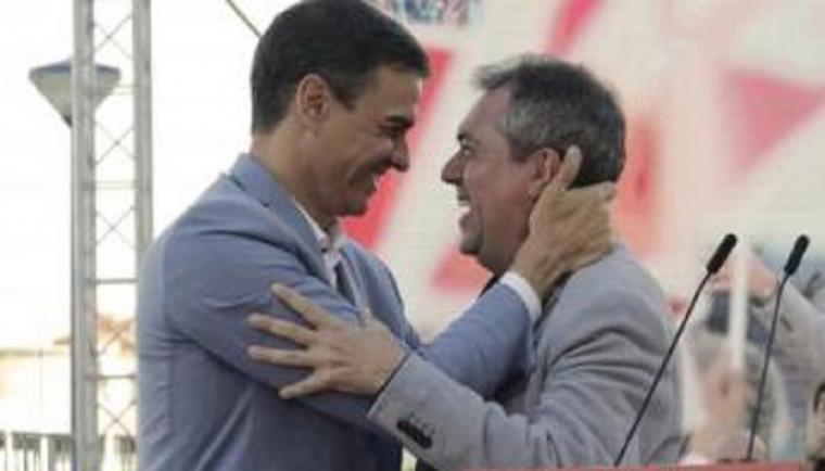 RESULTADOS DE LAS PRIMARIAS SOCIALISTAS EN ANDALUCIA