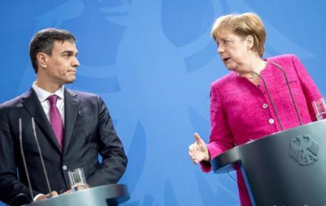 Pedro Sánchez lidera a sus homólogos y propone a Ángela Merkel un plan de reconstrucción europeo de hasta 1,5 billones a fondo perdido
