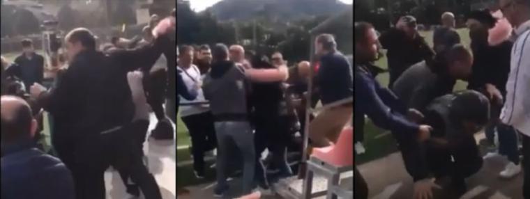 Multa de 6.000 Euros y dos años sin pisar un campo para los padres que se pelearon durante un partido de futbol de sus hijos en Beniajan