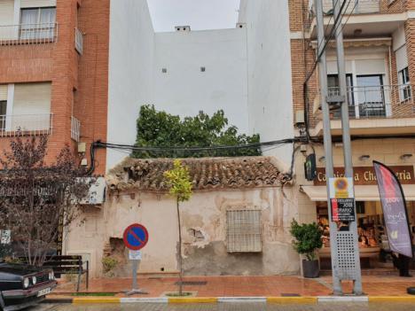 El Ayuntamiento de Lorca llevará a cabo, este próximo lunes, la demolición de tres viviendas declaradas en ruina técnica