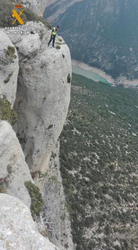Accidente mortal en el pirineo