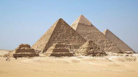Descubierto el enigma de la alineación de las pirámides de Guiza