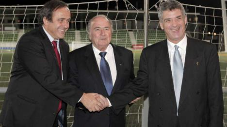 Platini, acaba de ser detenido en Francia