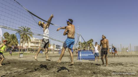 Málaga acoje eventos deportivos en sus playas