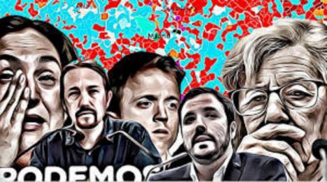Editorial : Desde dentro de Podemos piden la dimisión del duo Iglesias-Montero y exigen poner en marcha un nuevo Vistalegre, algo que ya hicieron tras la debacle del partido en las pasadas elecciones