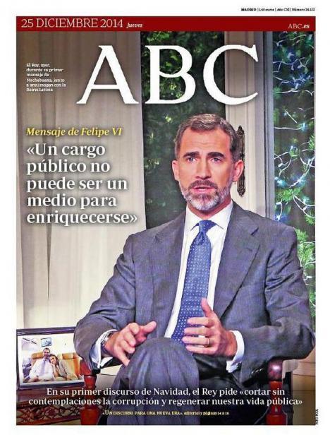 CAMPAÑA DE IMAGEN DEL MONÁRQUICO ABC: El Rey consigue 50.000 pruebas de coronavirus, que llegarán este miércoles a España
