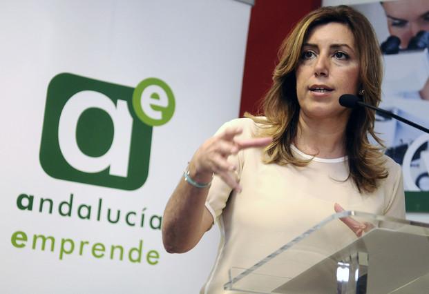 Editorial:Susana Díaz, tenía en la Junta una agencia para la colocación de amiguetes, que escondía bajo el disfraz de Andalucía Emprende