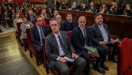 LLEGAN LOS PRESOS INDEPENDENTISTAS AL CONGERESO