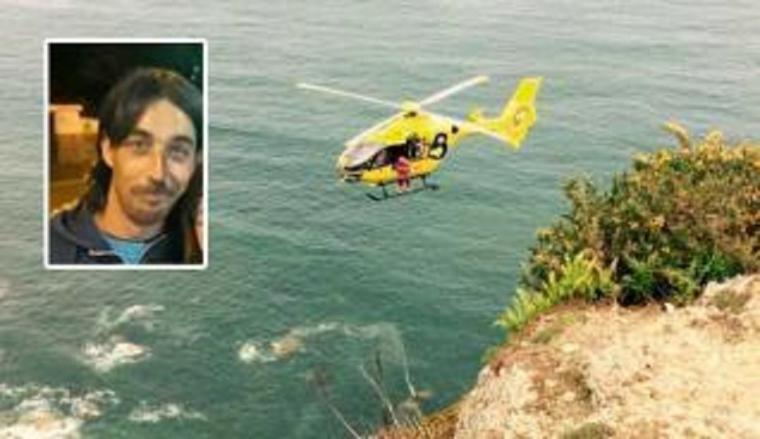 Encuentran en un acantilado el cadáver de Diego García el vecino de Gijón de 38 años que desapareció hace semana