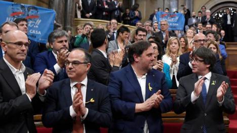 La Fiscalía pide 25 años de prisión para Junqueras