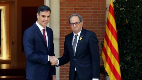 Ultimátum deTorra que le retirará el apoyo en el Congreso a Pedro Sánchez si no plantea un referéndum en un mes