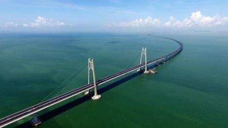 El puente más largo del mundo está en China