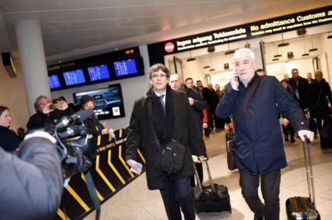 El Fiscal pide al juez la detención de Carles Puigdemont