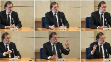 Se multiplican los problemas para Rajoy que fue llevado al juicio de la caja b en calidad de testigo, aunque ahora podría ir como investigado