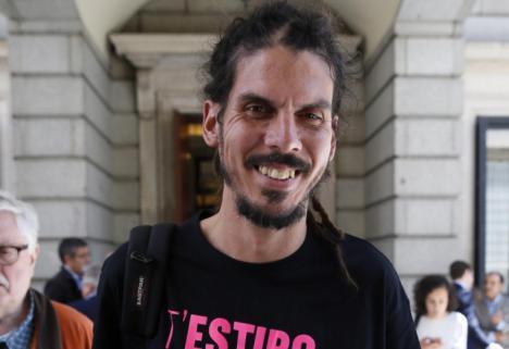 CAMBIO DE CROMOS EN PODEMOS, PABLO ECHENIQUE POR ALBERTO RODRÍGUEZ