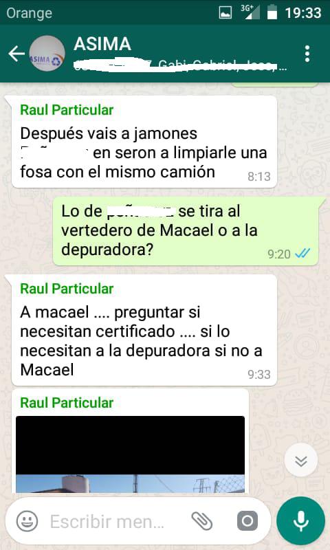 Lo que es hoy un escandalo nacional, obliga a la oposición a pedir la dimisión y al PP a destituir de su cargo al alcalde de Macael por ser el responsabable de contaminar el Almánzora.