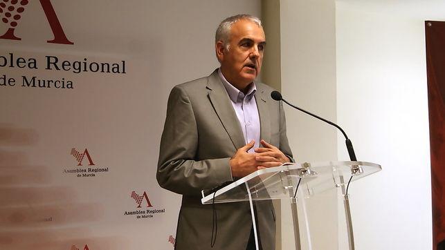 """Alfonso Martínez: """"El PSRM es el único que ha presentado propuestas para la reactivación económica de la Región de Murcia"""""""