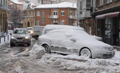 El frío barre la península. Record histórico 34,1 bajo cero en el Pirineo catalán