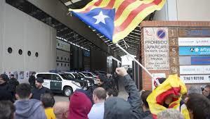 Nueva operación contra el referéndum de la Guardia Civil.